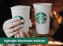 Súťaž o 3x Starbucks kávové balíčky