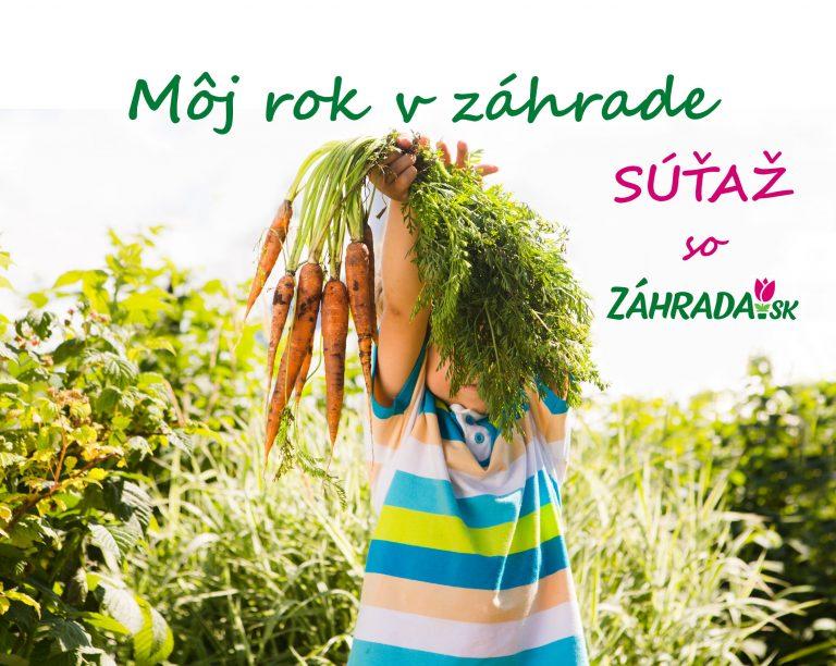 Staň sa aj ty súčasťou Záhrada.sk a vyhraj jednu z cien