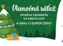 Vianočná súťaž sdeťmi.com 2018