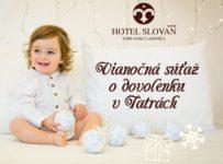 Vianočná súťaž s Hotelom Slovan o dovolenku v Tatrách