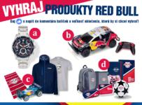 Vyhraj balíček produktov od značky Red Bull