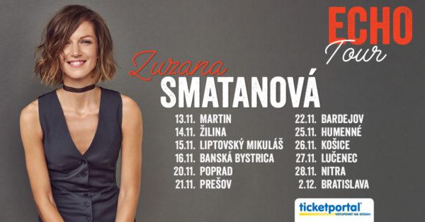 Vyhraj lístky na ECHO tour Zuzany Smatanovej