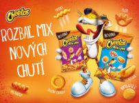 Vyhrajte Cheetos balíček, karty, vak a Cheetos Mix-Ups