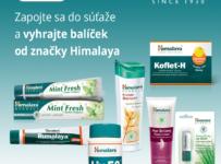 Vyhrajte balíček prírodnej kozmetiky a výživových doplnkov od značky Himalaya