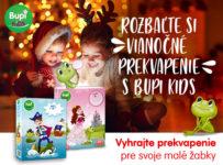 Vyhrajte darčekový balíček kozmetiky pre deti Bupi Kids