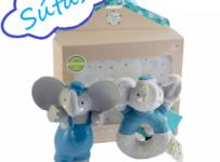 Vyhrajte darčekový set prírodných kaučukových hračiek Meiya&Alvi