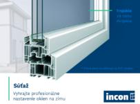Vyhrajte profesionálne nastavenie okien na zimu od INCON