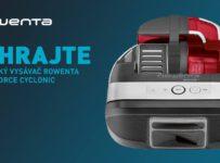 Vyhrajte robotický vysávač Rowenta Smart Force Cyclonic