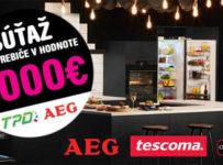 Súťaž o spotrebiče v hodnote 2000€