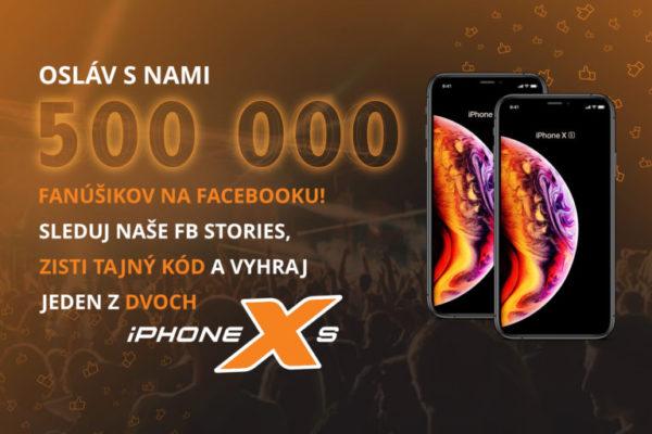 Uhádni tajný kód a vyhraj najnovší iPhone XS