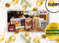 FaxCopy adventný kalendár 2018