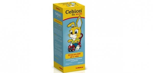 Súťaž o 5 x Cebion 2x multi sirup
