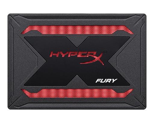 Súťaž o SSD disk HyperX Fury RGB
