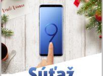 Súťaž o modrý Samsung Galaxy S9