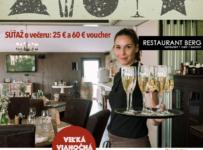 Súťaž o večeru v reštaurácii Restaurant Berg v Bratislave