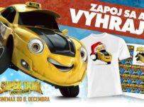 Súťaž s filmom Super taxík