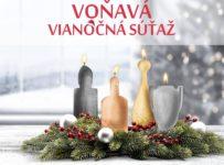 Veľká vianočná súťaž o 4 vône z adventného venca
