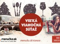 Veľká vianočná súťaž s Menučka.sk