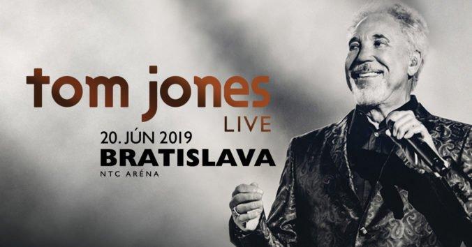 Vyhrajte 2 vstupenky na koncert TOM JONES LIVE
