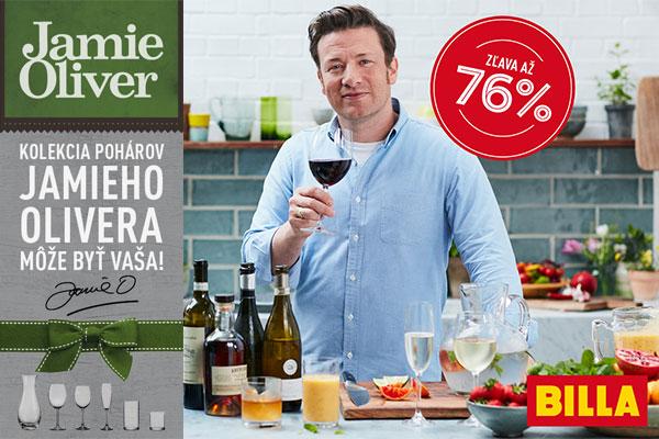 Vyhrajte kolekciu pohárov Jamieho Olivera