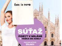 Zaleť si do Milána na nákupy s taškou od Adely