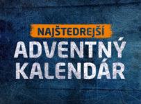 Najštedrejší adventný kalendár
