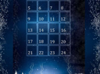 Adventný kalendár s darčekmi za viac ako 2000€