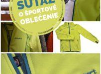 Súťaž o športové mikiny od slovenského výrobcu BENESPORT