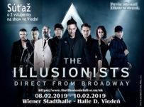 Súťaž o 2 vstupenky na show The Illusionists vo Viedni