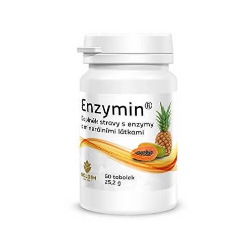 Súťaž o 3 x EnzyMin 60 kapslí v hodnote 35,20 EUR