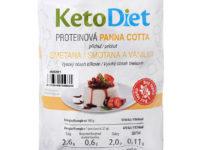 Súťaž o KetoDiet - Proteínová panna cotta s príchuťou smotany a vanilky