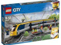 Súťaž o LEGO City 60197 Osobný vlak