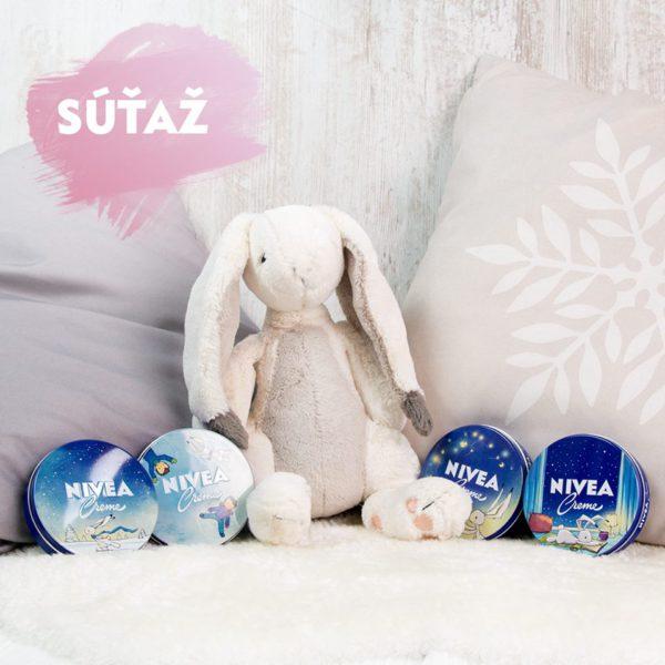 Súťaž o NIVEA plyšového králika