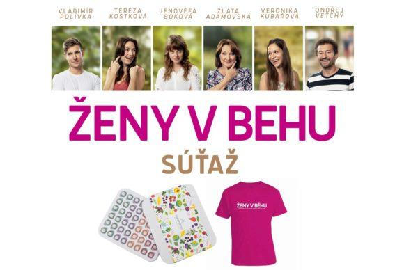 Súťaž o Waterdrop a tričko Ženy v behu s novou českou komédiou
