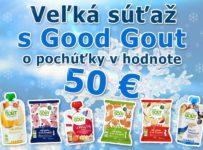 Súťaž o balíček detskej stravy Good Gout v hodnote až 50€