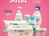 Súťaž o kozmetický balíček Baby Dove