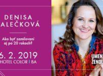 Súťaž o lístky na prednášku vzťahovej poradkyne Denisy Říhy Palečkovej