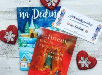 Súťaž o ročné predplatné časopisu na Dedine a knihu ako darček