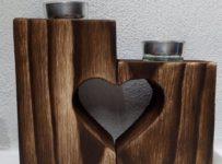 Súťaž o svietnik na čajové sviečky so srdcom