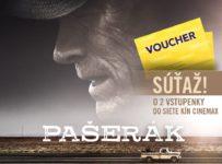 Súťaž s filmom Pašerák o 2 vstupenky do kina