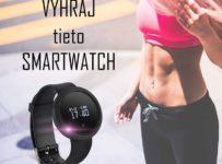 Súťaž skvelé smart hodinky Forever FIT SB-310