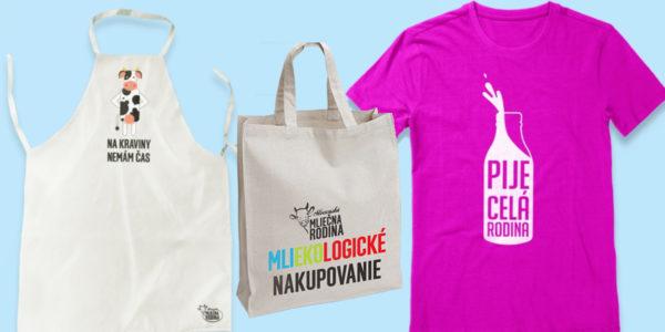 Súťaž o balíček s textilnou taškou, vtipnou zásterkou a 2 tričkami