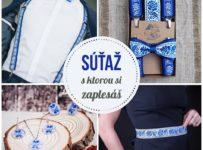 Súťaž o kompletný modrý folk set Slovák Slovenka