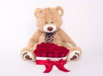 Valentínska súťaž o Box živých ruží a plyšáka