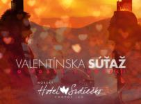 Valentínska súťaž o pobyt pre 2 osoby v Hoteli Srdiečko