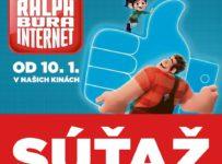 Vyhrajte darčekové predmety k film Ralph búra internet
