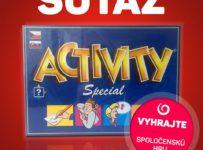 Vyhrajte spoločenskú hru s názvom ACTIVITY - special