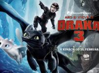 Ako si vycvičiť draka 3 – vyhraj lístky do kina