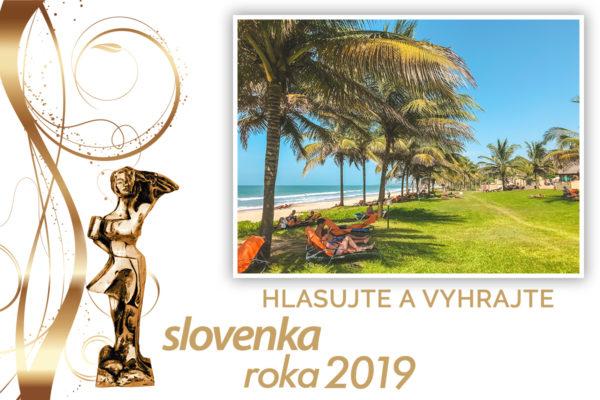 Hlasujte v ankete Slovenka roka 2019 a vyhrajte dovolenku snov