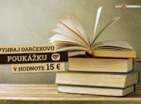 Súťaž o 15 € poukážku do kníhkupectva Martinus